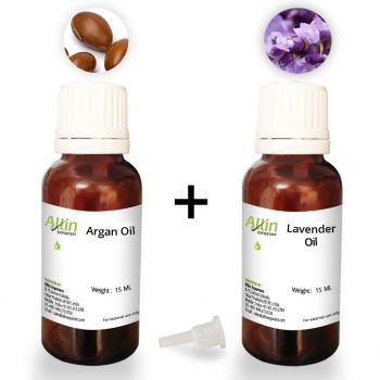 Combo Pack of Imported Moroccan Argan Oil and Lavender Essential Oil - 15ml Each