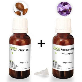Combo Pack of Imported Moroccan Argan Oil and Rosemary Essential Oil - 15ml Each