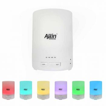 2 in 1 Ultrasonic Aroma Diffuser and Humidifier 6 Colorful LED Light (DT-G03) - 300 ML