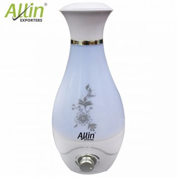 Flower Vase Shaped Ultrasonic Cool Mist Humidifier - 1 Liter