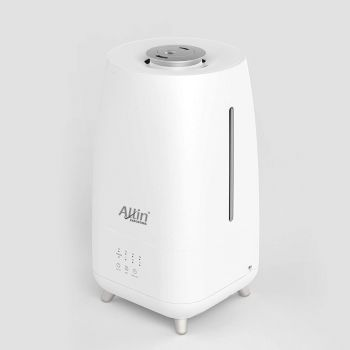 Allin Exporters LH-2029-A Top Fill Ultrasonic Humidifier & Air Purifier with Adjustable Cool Mist, Timer & Waterless Auto-Off Ideal for Home, Bedroom, Office, Baby Room (3.0L, Silver)