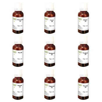 9 in 1 Combo Aromatherapy Therapeutic Grade Aroma Essential Oils for Diffuser and Oil Burner