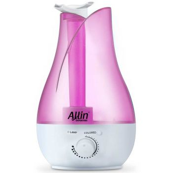 Designer Ultrasonic Humidifier Air Purifier - 2.8 Liters / 1 Gallon