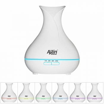 2 in 1 Ultrasonic Aroma Diffuser and Humidifier (DT-1522) - 400 ML
