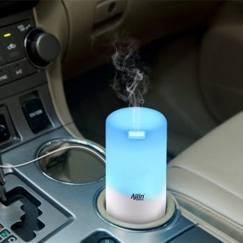 USB Based Compact 3 in 1 Aroma Diffuser Car Humidifier – 50 ml